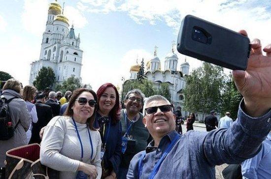 Иностранным законодателям показали Московский Кремль