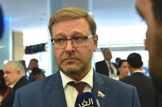 Косачев назвал Вышинского заложником украинской политической конъюнктуры