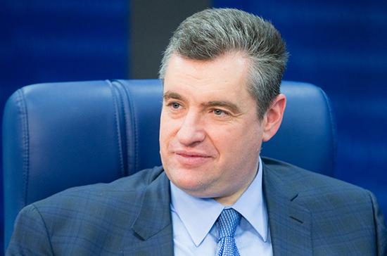 Слуцкий: Госдума 9 июля может рассмотреть проект заявления о мерах реагирования на инцидент в Грузии