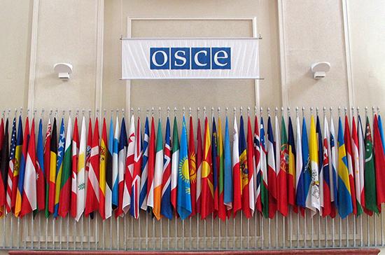 Россия изучит возможность включения своих представителей в состав руководства ОБСЕ