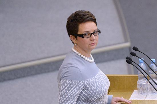 Савастьянова прокомментировала ситуацию с подменой тематики в законопроектах