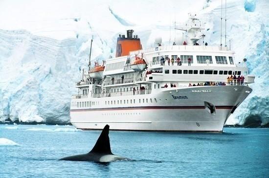 Иностранцам с круизных лайнеров могут разрешить высаживаться в Арктике