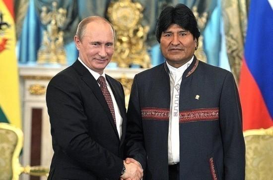 Президент Боливии прибыл в Москву для встречи с Путиным