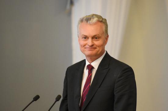 Науседа вступил в должность президента Литвы