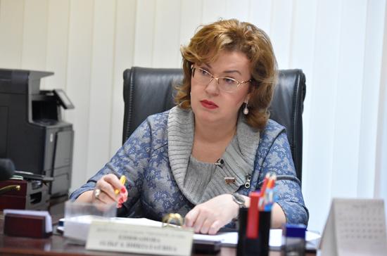 Епифанова отметила важность проекта о социальных парковках