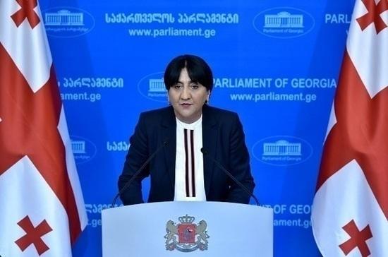 Грузинские депутаты встретятся  с российскими законодателями в Москве