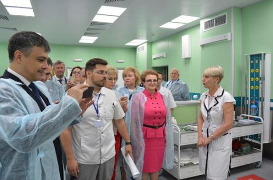 Депутаты Госдумы осмотрели больницы в Волгограде