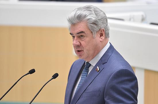 Бондарев предложил активизировать сотрудничество сенаторов с итальянскими коллегами