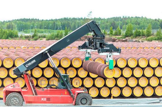 В «Газпроме» не исключили, что срок строительства «Северного потока — 2» будет увеличен