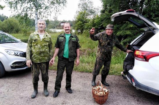 Почти сто человек заблудились в подмосковных лесах за три дня