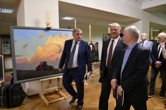 В Госдуме открылась выставка «Созидающий труд»