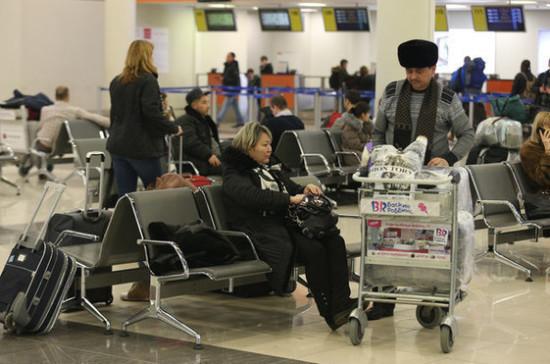 СМИ: в Госдуме предложили увеличить штрафы за задержку авиарейсов и багажа
