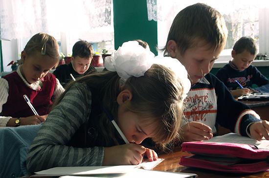 Детей предложили в приоритетном порядке зачислять в школы, где учатся их братья и сёстры