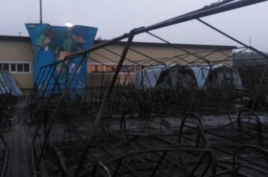Число жертв пожара в детском лагере увеличилось до четырёх человек