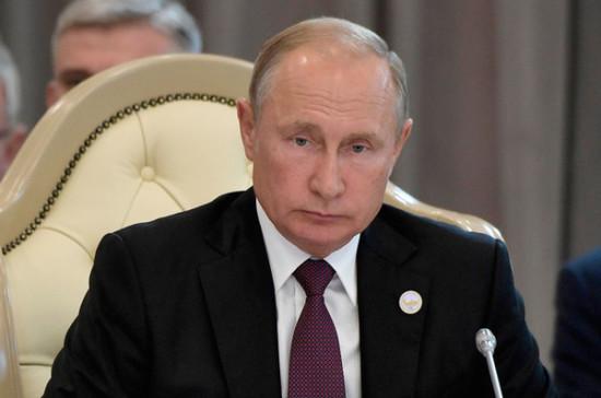 Путин поручил кабмину принять необходимые для нацпроектов законы до 15 декабря