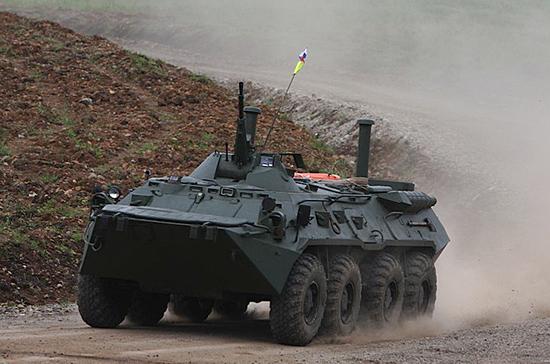 В Сербию доставили десять российских бронетранспортёров