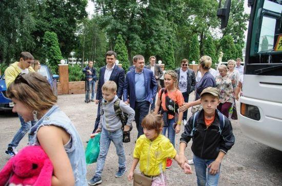 В воронежском санатории приняли пострадавших от паводка в Иркутской области