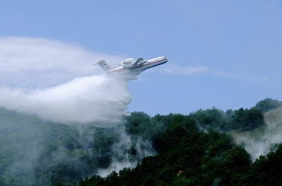 Военная авиация потушила все назначенные ей очаги пожаров в лесах Красноярского края