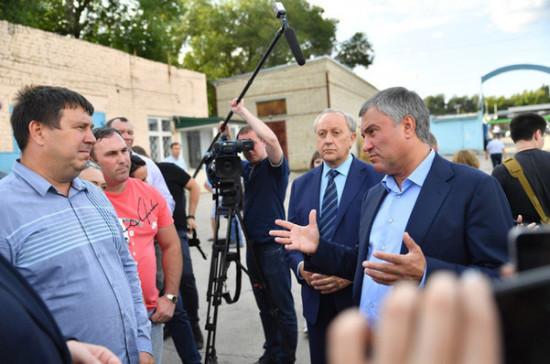 Володин: после реконструкции доступ на стадионы в Саратове должен быть бесплатным