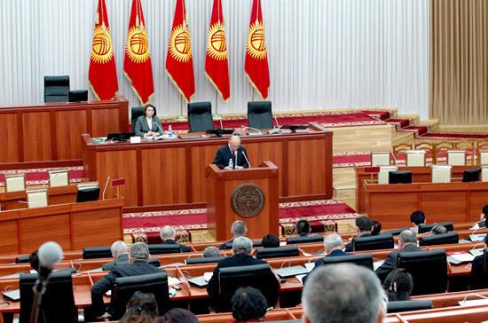 Парламент Киргизии не принял постановление о введении режима ЧП
