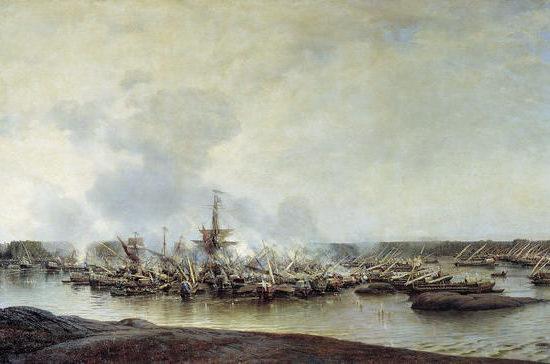 Первая в российской истории морская победа русского флота