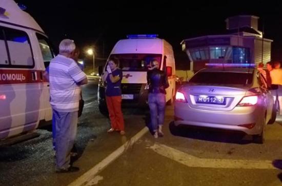 Пассажирка рассказала о ДТП с туристическим автобусом под Новороссийском