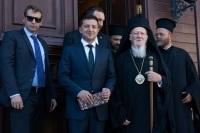 СМИ: Зеленский отказался подписывать совместное заявление с Варфоломеем