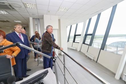 Вячеслав Володин проверил готовность аэропорта «Гагарин»