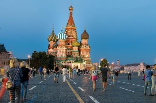 Количество иностранных туристов в России за первое полугодие 2019 года увеличилось на 25%