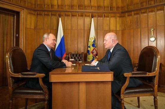 Путин рассчитывает, что опыт Развожаева поможет в развитии Севастополя