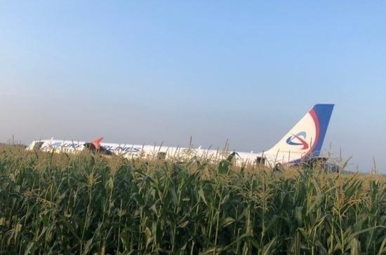 Число пострадавших при аварийной посадке самолета в Подмосковье возросло до 76
