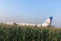 Пассажир рассказал о жёсткой посадке самолёта А321 в Подмосковье