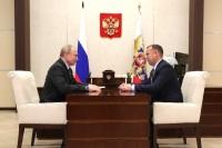 Путин согласился с идеей перевести часть крупных налогоплательщиков в Курганскую область