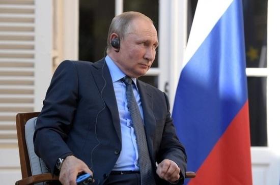 Путин оценил радиационный фон после аварии в Архангельской области