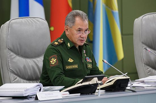 Шойгу рассказал о мерах по усилению группировки войск на восточном направлении