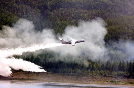 Площадь лесных пожаров в России увеличилась на 7,7 тыс. га