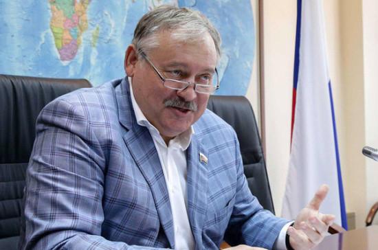 Затулин: все кандидаты на пост президента Абхазии демонстрируют положительное отношение к России