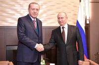 На переговорах Путина и Эрдогана будет сделан акцент на «сирийских делах»