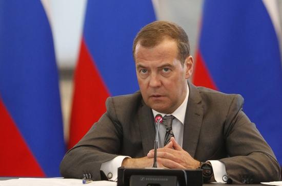 Медведев проведёт совещание по очистке Волги