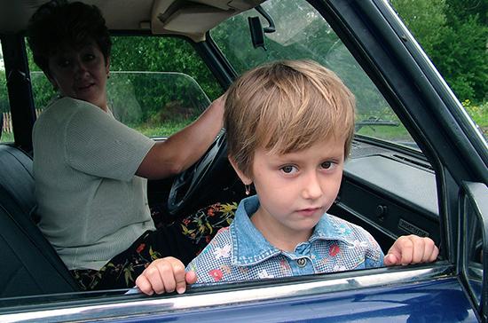 В ГИБДД предложили ограничить скорость перевозки детей
