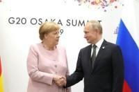 Путин и Меркель договорились о подготовке к саммиту в нормандском формате