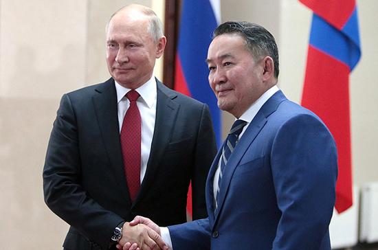 Президенты России и Монголии заключили бессрочный Договор о дружбе