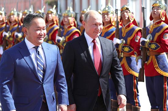 Путин прибыл в Монголию на празднование 80-летия битвы на Халхин-Голе