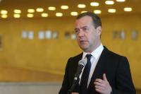 Медведев проголосовал на выборах депутатов Мосгордумы