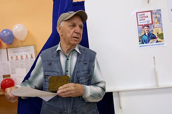 Более 118 тысяч человек проголосовали за депутатов Мосгордумы на дому