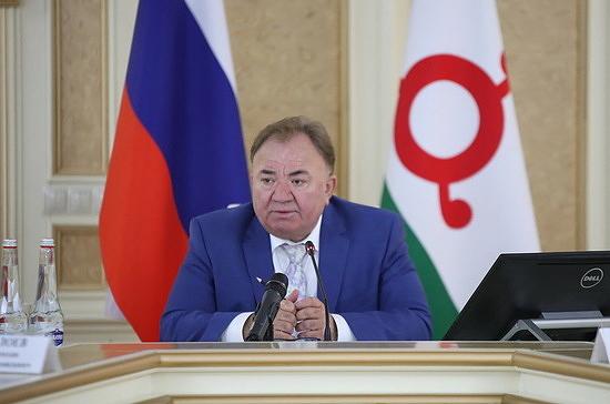 Калиматов избран главой Ингушетии