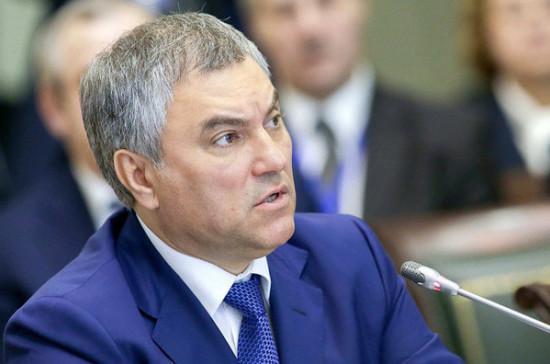 Володин призвал ПАСЕ препятствовать переписыванию истории Польшей и Украиной