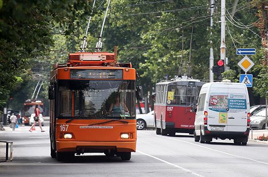 Первый троллейбус с автономным ходом появился в Краснодаре