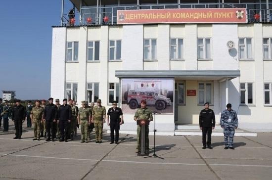 Золотов открыл первые Всероссийские соревнования подразделений отрядов ОМОН