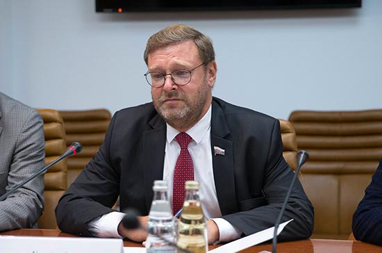 В Совфеде ожидают визит в Россию председателя парламента Ирака